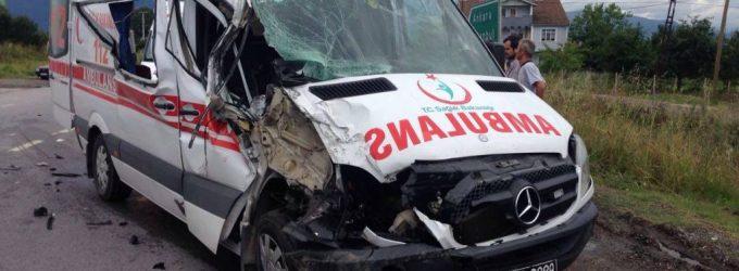 Ambulans Kazalarını Önleyecek Öneri