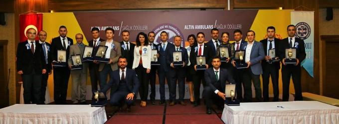 2016 Yılı Altın Ambulans Sağlık Ödülleri Sahiplerini Buldu