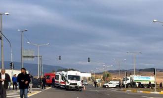 #Bolu'da #Ambulans Kazası