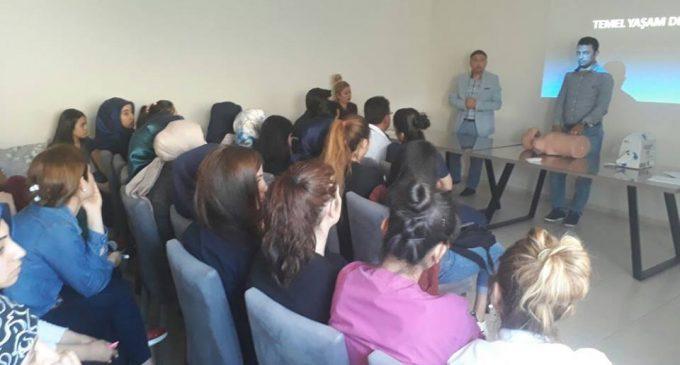 Osmaniye'de Temel Yaşam Desteği Eğitimi Verdik