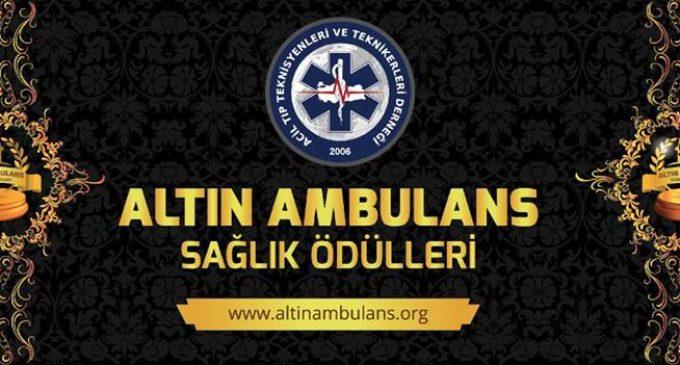 5.Altın Ambulans Sağlık Ödüllerine Başvurular Başladı