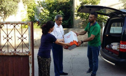 Osmaniye İl Başkanlığımız Tarafından 30 İhtiyaç Sahibi Aileye Ramazan Yardım Kolisi Dağıtıldı.