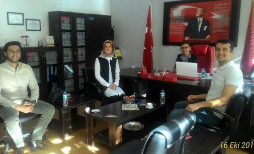 Çanakkale İl Başkanlığımızdan Çanakkale İbn-i Sina Mesleki ve Teknik Anadolu Lisesi'ne Ziyaret