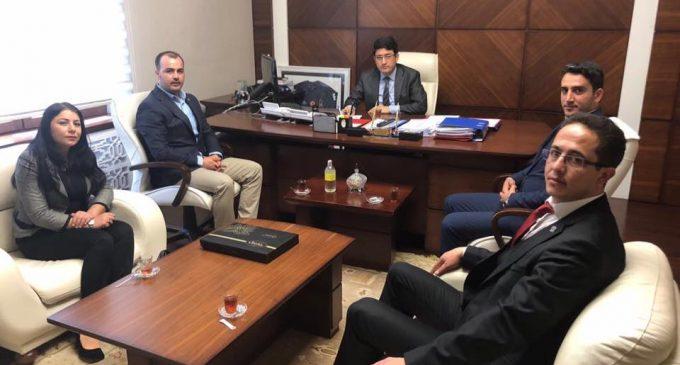 ATTDER'den Müsteşar Yardımcısı Zeki KORKUTATA'ya Ziyaret