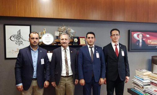 ATTDER'den TBMM Sağlık Komisyon Üyesi YURDAKUL'a Ziyaret