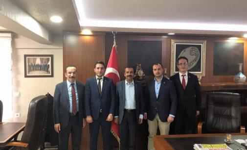 ATTDER'den Sağlık Sen Başkanı MEMİŞ'e Ziyaret