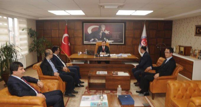 ATTDER'den Türk Sağlık Sen Başkanı KAHVECİ'ye Ziyaret