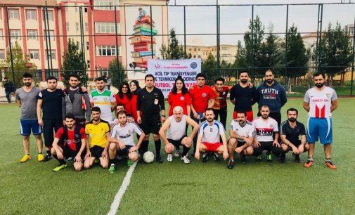 Sağlıkçıları Yeşil Sahalarda Buluşturan Futbol Turnuvası Düzenlendi