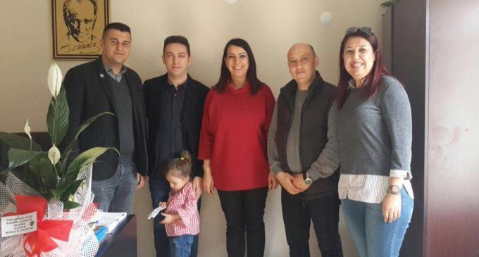 ATTDER MUĞLA'dan 112 Başhekimi ÖNSOY'a Ziyaret
