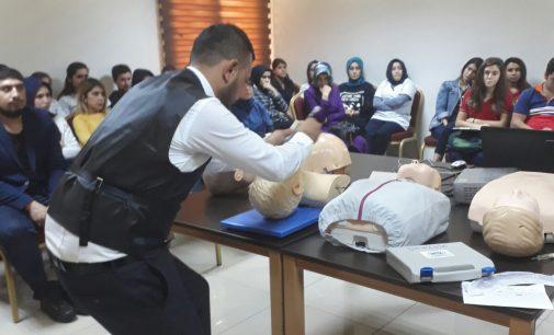 """Osmaniye İl Başkanlığımızdan """"Temel Yaşam Desteği ,CPR ve Endotrekeal Entübasyon Eğitimi"""""""