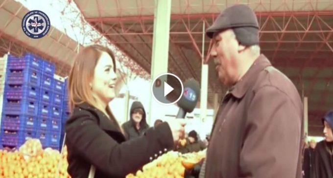 Burdur İl Başkanımızdan Sokak Röportajı
