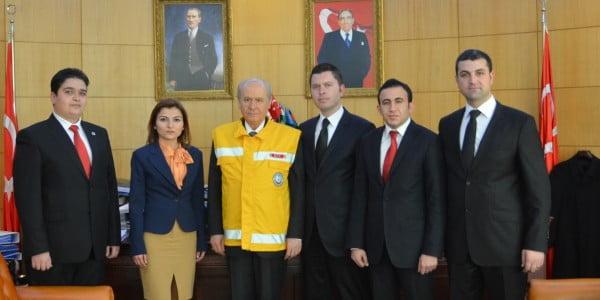 ATT DER'DEN MHP Genel Başkanına Ziyaret