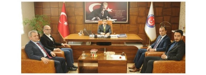 ATT DER'DEN Türk Sağlık-Sen'e Ziyaret